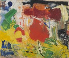 Pat Passlof: Paintings from the 50s