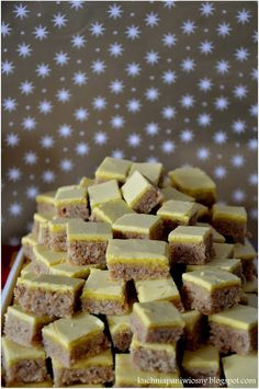 Polish Recipes, Some Recipe, Christmas Baking, Tart, Cake Recipes, Cereal, Food And Drink, Favorite Recipes, Cookies