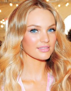 Candice, Victoria's Secret Makeup....skin is amazing!