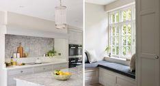 Hertfordshire Property Kitchen Room Design, Kitchen Themes, Home Decor Kitchen, Country Kitchen, New Kitchen, Kitchen Ideas, Kitchen Without Top Cabinets, Martin Moore Kitchens, The New Classic