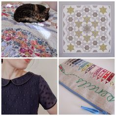 Flossie Teacakes: English paper piecing: where to begin--heaps of info with pix and patterns in various shapes.