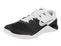 best service fc467 89b27 NIKE New Mens Metcon 3 Cross Training Sneaker (13 Black White Metallic  Silver
