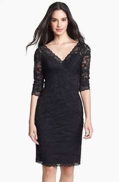 Marina Tiered Lace Dress available at #Nordstrom