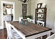 cool 6 DIY Dining Tables You Can Make on a Budget — DIY Design by http://www.tophome-decorationsideas.space/dining-tables/6-diy-dining-tables-you-can-make-on-a-budget-diy-design/