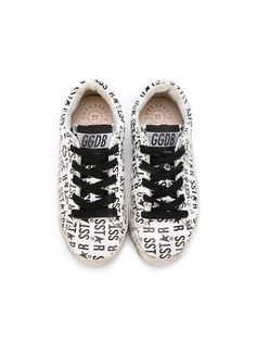 Shop Golden Goose Deluxe Brand Kids logo print sneakers in Excelsior Milano from the world's best independent boutiques at farfetch.com. Shop 400 boutiques at one address.