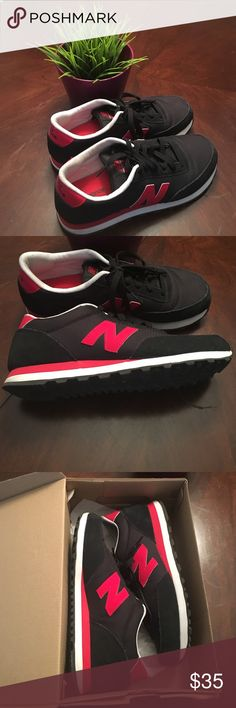 new balance classic traditionnels womens black red new balance classics worn a few times