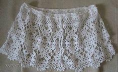 Patrón #1060: Mini Falda a Ganchillo | CTejidas [Crochet y Dos Agujas]
