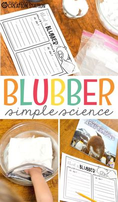 Help your students' curiosity with a fun hands-on polar science experiment! Your learners will know just what it feels like to be a polar animal in the cold with this fun activity. Simple supplies make this an easy activity to put together. Science Activities For Kids, Cool Science Experiments, Easy Science, Preschool Science, Science Lessons, Teaching Science, Teaching Resources, Steam Activities, Homeschooling Resources