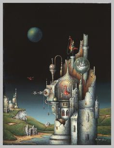 Michel Naze De fantasy malerier af