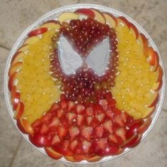 Spiderman FruitPlate