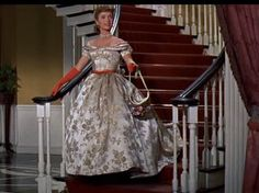 """""""Tammy and the Bachelor"""". Costumes by Bill Thomas. Debbie Reynolds, 1957."""
