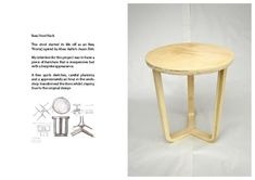 Best Ikea Hack transform Frosta stool to lovely side table - legs upside down Ahmed Mehio