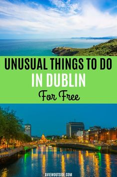 Unusual Things to do in Dublin For Free Top free activities in Dublin, Ireland that you need to know about from a local. Unusual, unique things to do in Dublin. Dublin Travel, Europe Travel Tips, Ireland Travel, Travel Destinations, Dublin Shopping, Galway Ireland, Cork Ireland, Paris Travel, Travel Hacks
