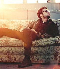 sebastian stan - got room on that couch? ;)  Putting in Furniture section. He comes with any couch.