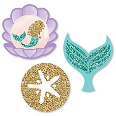 Let's Be Mermaids - Baby Shower Theme | BigDotOfHappiness.com