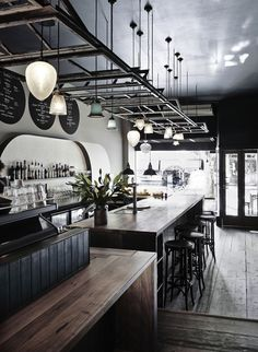 Bar and restaurante ideas for you to get inspired
