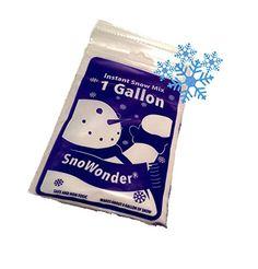 SnoWonder Instant Artificial Snow One Gallon Mix - Bonus ...