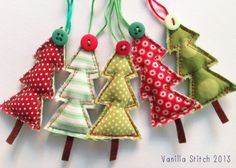 Christmas tree decorations https://www.facebook.com/pages/Vanilla-Stitch/121584934620751