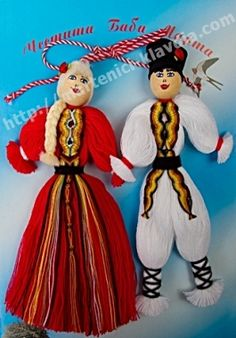 Мартеници - Клавдия - ръчно изработени мартеници, материали за мартеници, продажба на едро и дребно. martenici, материали Baba Marta, Crochet Toys, Sewing Ideas, Ronald Mcdonald, Diana, Traditional, Christmas Ornaments, Holiday Decor, Fabric