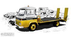 Les illustrations de christophe: Saviem SG2 - Renault Service