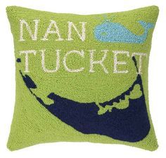 Take Me To Nantucket Hook Pillow