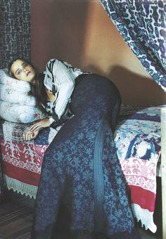 Vogue Nippon October 2005 | Myth and Folklore | Yelena Yemchuk