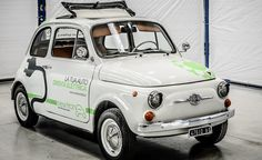 5cento 18 electric Fiat 500