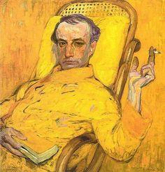 František Kupka, Autoportrait, 1907.