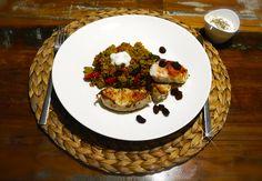 Geh auf orientalische Entdeckungsreise mit dieser leckeren Quinoa Pfanne