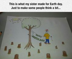 Earth Day Illustrated