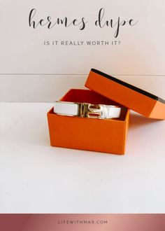 I Bought an Hermès Bracelet Dupe to See What All The Fuss Is About | Life with Mar