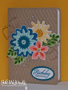 Sue Wdowik - Independent Stampin' Up! Demonstrator (Australia) Crazy Crafters New Stampin' Up! Catalogue July Blog Hop