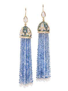 Tassel earrings ~ETS #jewels
