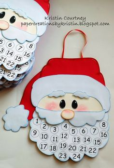 Paper Creations by Kristin: Santa Countdown to Christmas 2