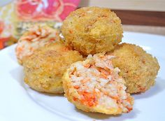 Lobster Risotto Balls!