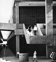 Bankstown Square Shopping Center, Bankstown, New South Wales, Australia, 1960s (Hely, Bell & Horne)