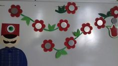 15 August, Handprint Art, Boards, Classroom, Nice, Paper, Spring, Flowers, Crafts
