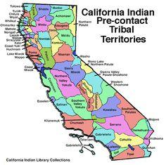 California Indian Pre-Contact Tribal Territories | NCIDC