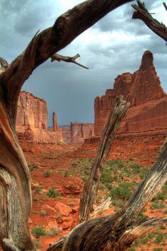 Park Avenue Arches National Park   ParksFolio