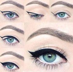 Jednoduchý návod na oční linky