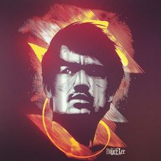 Bruce Lee by hydro74.com. Epic