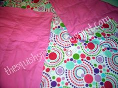 tutorial for sewing weighted blankets for people with sensory issues: including autism and fibromyalgia