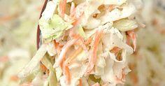 Fabulosa receta para Coleslaw (ensalada de repollo americana). Excelente para acompañar la receta del pollo frito