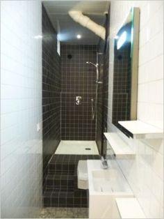 164 meilleures images du tableau salle de bains troite en 2019 apartment bathroom design for Salle de bain 3m2 avec wc