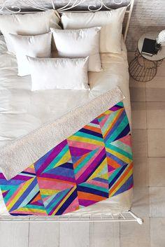 Jacqueline Maldonado Hybrid 1 Fleece Throw Blanket | DENY Designs Home Accessories