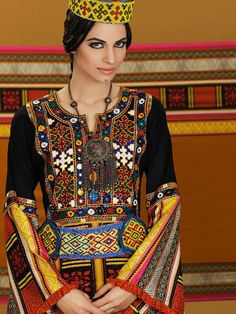 Iran. Magnifcent traditional outfits and ornaments