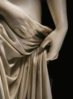 Lorenzo Bartolini 1777-1850  Nimpha Arnina (details)