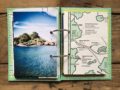 rukristin travel mini-album New England