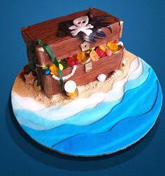 Pirate Cake - Torta de Piratas