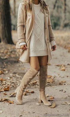 20 Cool But Still Warm Women Fall Outfits 20 Cool But Still Warm Women Fall Outfits,Fashion Outfits Related Business Casual Outfit Ideas For Work - Outfit ideasKaschmir-Pullover für Damen - Outfit Fascinating. Winter Outfits For Teen Girls, Winter Fashion Outfits, Casual Fall Outfits, Fall Winter Outfits, Look Fashion, Autumn Winter Fashion, Womens Fashion, Fashion Trends, Fall Fashion